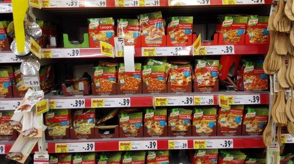 Alle Knorr Fix Produkte bei Kaufland bundesweit 50% billiger