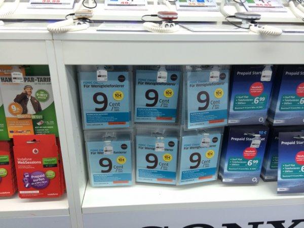 Fonic Simkarten 10€ Startguthaben Braunschweig (PSN möglich)
