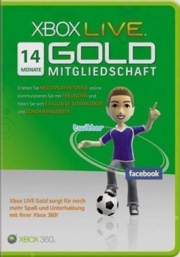 Noch 4x 14Monate Xbox GOLD 28 Oi