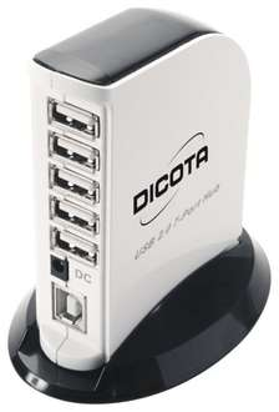 2.0 USB Hub 7 Ports mit Netzteil - Dicota Tower 2.0 - Amazon.de