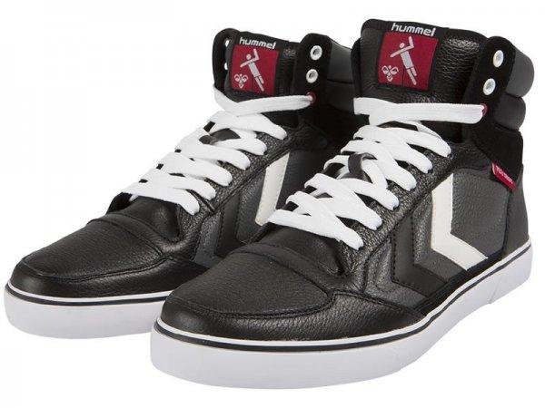 [Sport-Redler.de] Hummel Stadil Fly Shot High Sneaker in schwarz in den Größen 41 - 45 für 44,90€ + 5€ Versand