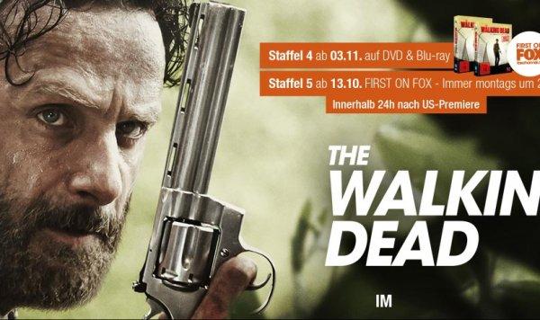 The Walking Dead Halloween Special, S05 E01 & E02 in ausgewählten Cinemaxx Kinos