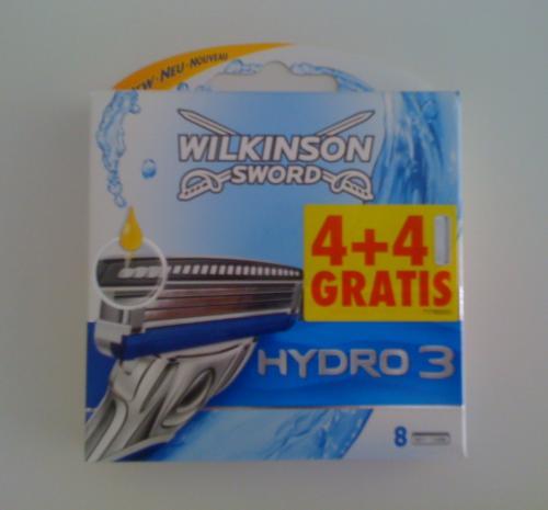 Wilkinson Hydro 3 Klingen - 81 Cent/Stk. @dm offline