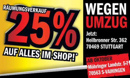 Hein Gericke 25% auf alles* im Shop Stuttgart!