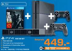 PS4 500GB + The Last Of Us remastered + 2. Controller + Kamera für 449€ @Saturn ab 08.10.