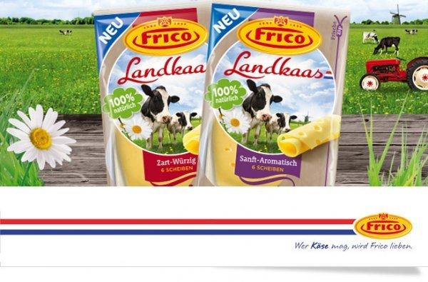 [KAISERS/TENGELMANN] Frico Landkaas Scheibenkäse versch. Sorten 170g