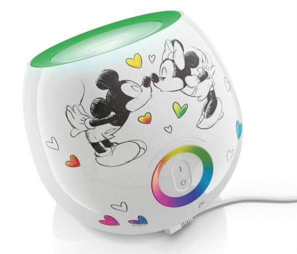 eBay WoW: Philips Living Colors Mini Mickey & Minnie Mouse LED Stimmungslicht NEU 24,99 Euro inkl. Versand