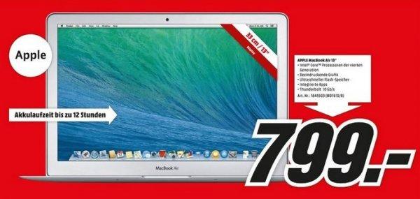 @ Lokal Stuttgart - MacBook Air MD761 256GB Flash für 799€