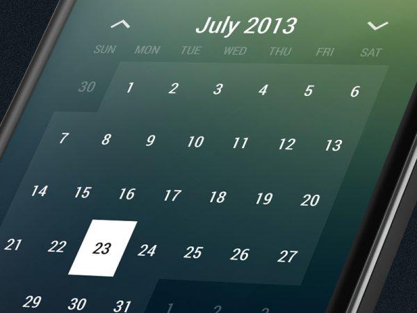 """[Android] """"Month: Calendar Widget"""" als kostenlose und werbefreie Vollversion (nur heute)"""