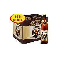 Franziskaner Weißbier / Weizen Kiste für 11,11€ bei Edeka
