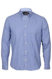 Jack & Jones Herren Hemd marineblau/blau