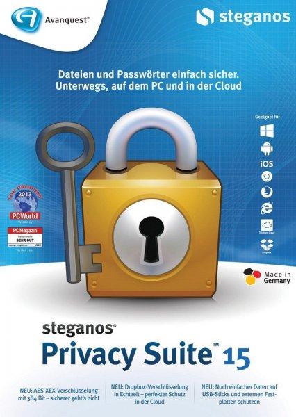 Steganos Privacy Suite 15 - Kostenlos