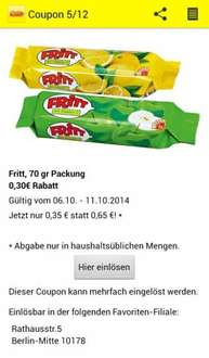 [Netto MD] In App Coupon: FRITT für 0,35€