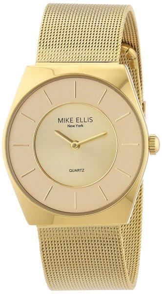 Amazon Blitzangebot: Mike Ellis New York Unisex-Armbanduhr Analog Quarz Edelstahl beschichtet M1126AGM/1 29,99 Euro inkl. Versand