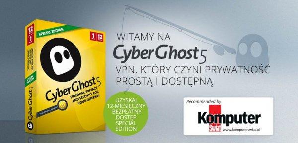 Cyberghost5 Special Edition, 12 Monate kostenlos! nur noch 225 Lizenzen... (jetzt wird es eng!!!)