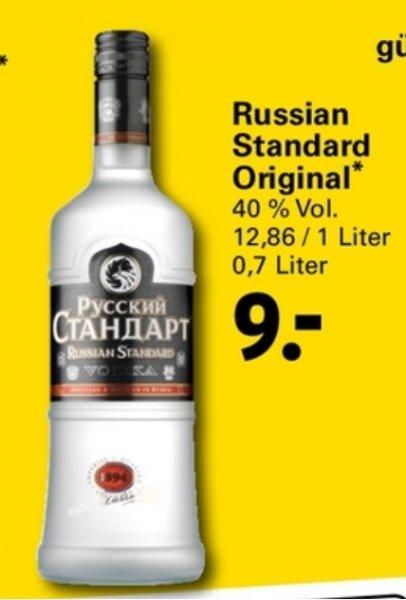 [Netto Supermarkt] Russian Standard 0.7 Liter (9€) und Karavan 0.7 Liter (7,99€) ab 13.10