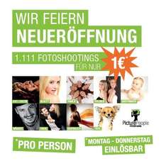 PICTURE PEOPLE Fotoshooting inkl. Make-Up für 1 € [STGT-Milaneo]