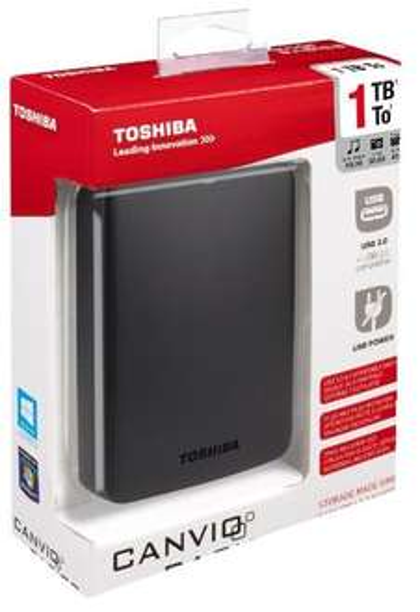 Externe Festplatte TOSHIBA Canvio Basics 2.5 mit 1TB bei MediaMarkt lokal für EUR 39,-