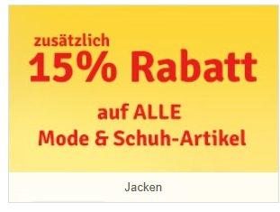 myToys 15% auf alle Mode + Schuhartikel Bsp:JACK WOLFSKIN Outdoorjacke Tilda ab 94,09€ + 4 Qipu