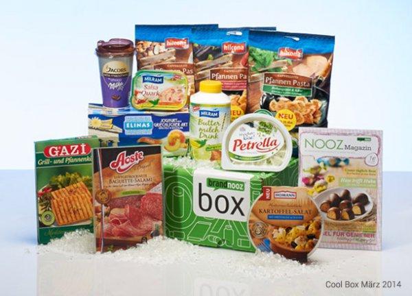 Brandnooz-Box mit 18€ Warenwert für 8€ inkl. VSK - kein Abo!