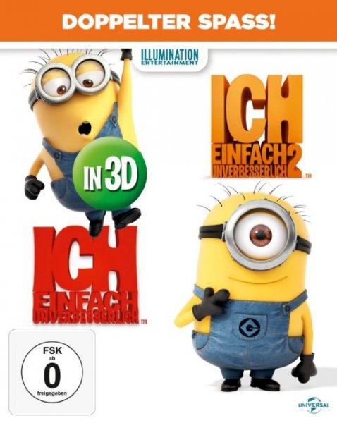 [amazon.de] Ich - Einfach unverbesserlich 1&2 [Blu-ray 3D] für 19,97 € (Prime)