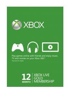 12 Monate Xbox Live Gold Mitgliedschaft für 28,53€