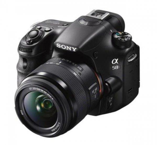 Sony SLT A58 Kit mit Objektiv SAL 18-55 mm (NEU+OVP) @SaturnOutletstore/Ebay