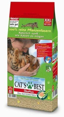 [@Zooroyal] Katzenstreu Cat's Best Öko Plus 40 L  (ca 19,5 kg) für 17,99€ statt 21,89€