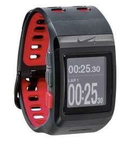 TomTom Nike Sportwatch GPS antrhazit/rot ohne Schuhsensor für 99 €  bei ebay.de