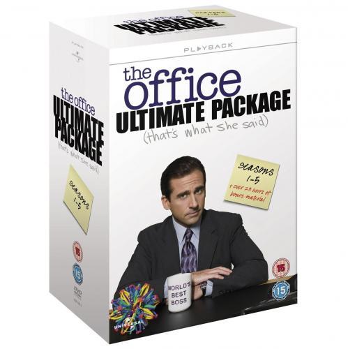 The Office (US) Season 1-5 (18 x DVD) für ~49.51€ @Amazon.uk