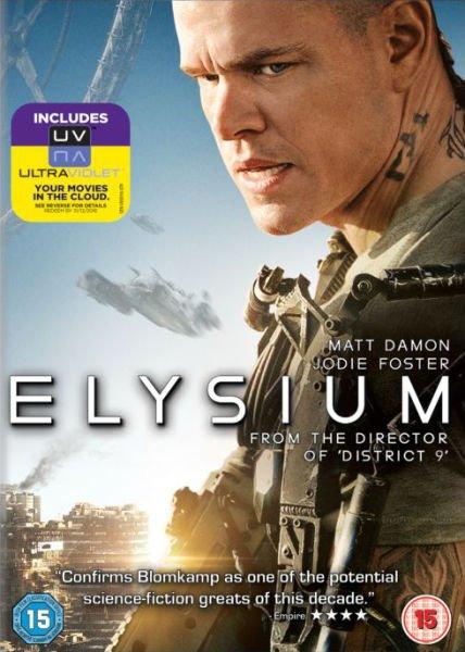 Elysium DVD incl. UV Copy für € 3,89 [zavvi]