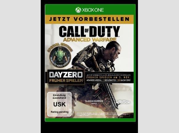 """XBOX ONE """"Call of Duty Advanced Warfare Day Zero"""""""