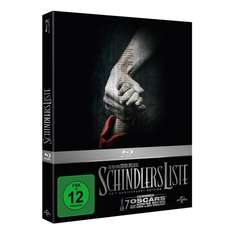 [amazon.de] Schindlers Liste - 20th Anniversary Edition [Blu-ray] [Limited Edition] für 10,97 € (Prime) ohne 13,97 €