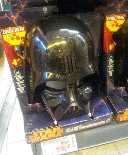 Darth Vader Helm mit Stimmenverzerrer und Soundeffekten 19,99€ @real.de (auch lokal)