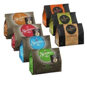 [WEZ] KW42: 3x Senseo Kaffeepads versch. Sorten 92-125g für 1,02€/Packung =0,06€/Pad