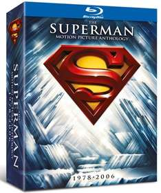 Blu-ray Box - The Superman Motion Picture Anthology (8 Discs) für €13,69 [@Wowhd.co.uk]
