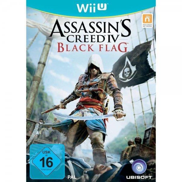 Assassins Creed 4: Black Flag (WiiU) bei Conrad (nur 8,61 € durch 10 € Gutschein mit Füllartikeln)