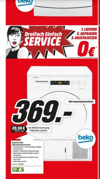 Beko DPU7404 Wärmepumpentrockner [lokal] MM Kassel