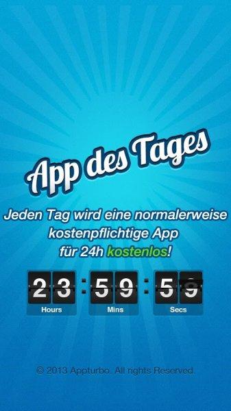 App des Tages für Android und iOS