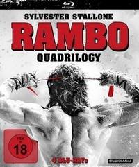 Rambo Quadrilogy: Rambo 1 - 4 [Blu Ray] für 20,99€ @AlphaMovies