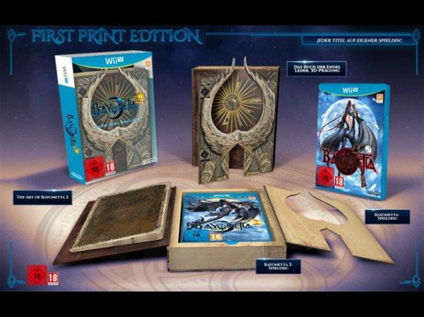 Bayonetta 1+2 First Print Edition (WiiU) bei Saturn.de wieder vorbestellbar