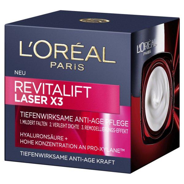 [GzG] Ab 17. Oktober: L'Oréal Paris RevitaLift Laser X3 Tag, Serum oder Auge testen und doppelten Kaufpreis zurück bekommen