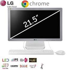 LG IPS CHROMEBASE 22V241 – All in One PC mit Intel Celeron 2955U und 16GB SSD für 308,90€