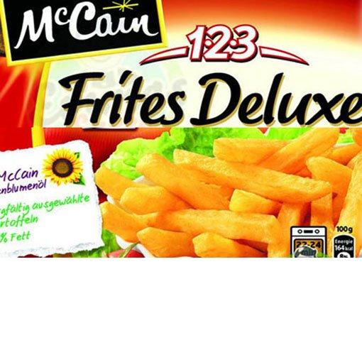 [REAL] McCain 1-2-3 Frites und Frites Delux Pommes bis zum abwinken!
