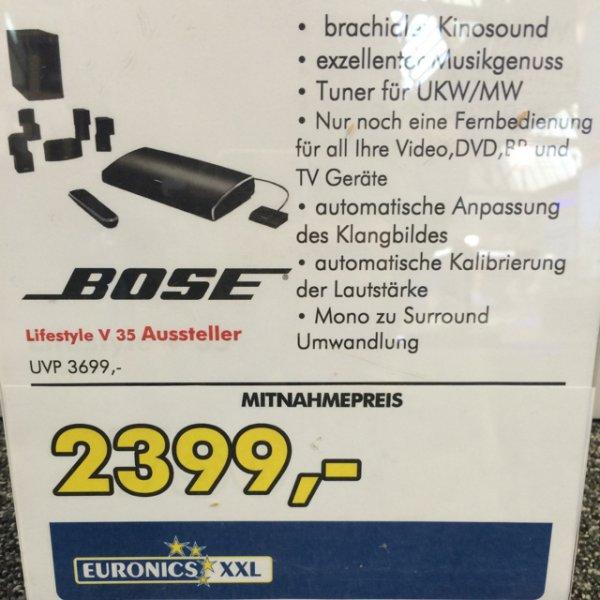 Bose Lifestyle v35 Aussteller für 2399€ euronics Ratingen