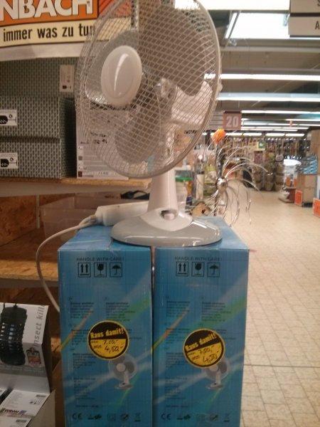 [lokal Karlsruhe] Tischventilator 30cm, 40W für 4,50€