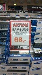 [lokal?] Samsung BD-H 5900 EN 3D Blu-Ray Player bei Saturn Darmstadt