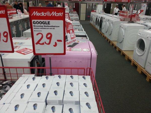 [lokal?] Google Chromecast bei MM Halle/Peißen für 29€
