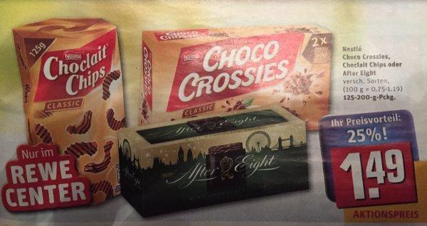 [Rewe Center] Choclait Chips & Choco Crossies mit Scondoo für nur 0,89€ -Verlängerte Chance!