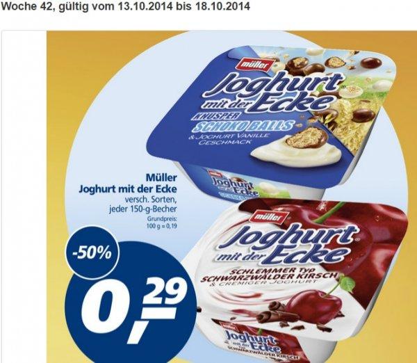 [Real] Müller Joghurt mit der Ecke -50% für nur 0,29€!!!